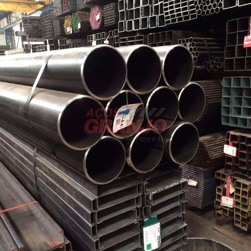 Tubo redondo de aço